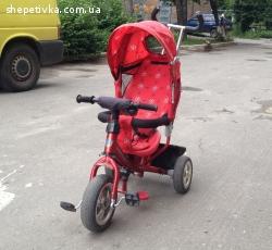 Дитячий трьохколісний велосипед Azimut Trike / Eco Baby