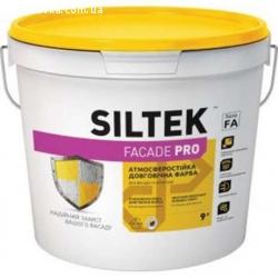 Краска латексная фасадная FAСADE PRO, SILTEK 9л