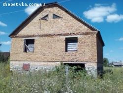 Продається недобудований будинок із земельною ділянкою с. Су
