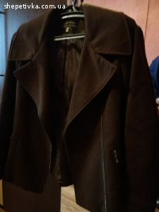 Продаю коротке кашемірове пальто-піджак