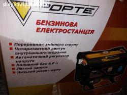 Продам бензиновий генератор FORTE FG2000