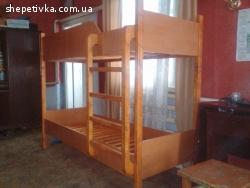 Продам двохярусне ліжко