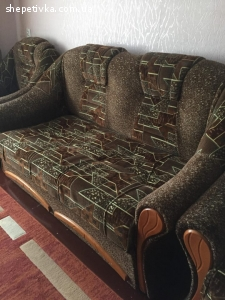 """Продам м""""який куточок (диван,2 крісла)"""