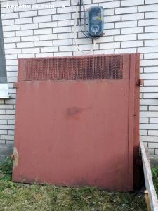 Продам металеві ворота