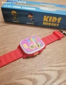 Продам новые детские смарт  часы Nomi Kids Heroes W2 Red