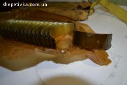 Шатунные вкладыши- к-т 16 шт. 0,5 (2-й ремонт)ЗИЛ130,131,375