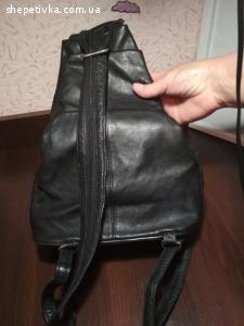 Шкіряний рюкзак