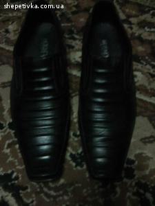 Туфли Мужские (Кожаные) 40 размер.
