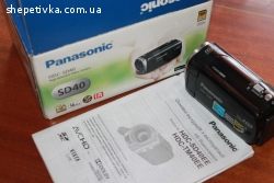Відеокамера Panasonic HDC-SD40