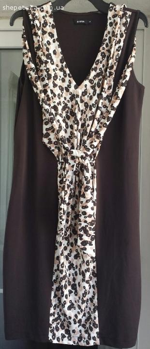 Жіноча літня сукня O'STIN шоколадного кольору Розмір 38 М