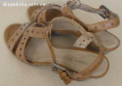 Зручні  жіночі шкіряні босоніжки MarcoTozzi  Розмір 41
