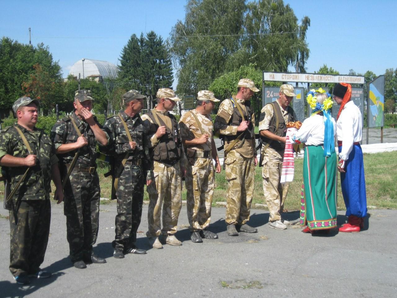 Як Молодіжна рада Шепетівки зустрічала своїх героїв із зони АТО