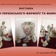 Чари українського фарфору та фаянсу
