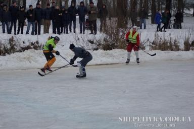 Хокейний матч між командами Шепетівки та Новоград-Волинська 2017-01-29