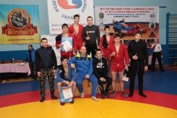 Всеукраїнський турнір з бойового самбо серед юнаків, присвячений Святому Миколаю Чудотворцю 2017-12-27