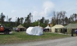 Тренування щодо дій у разі виникнення надзвичайної ситуації на Хмельницькій АЕС 2018-04-28