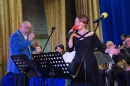 Творчий вечір музиканта та композитора Віктора Камінського у супроводі муніципального естрадно-духового оркестру 2018-11-06
