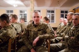Святий Миколай завітав до військових 2018-12-18