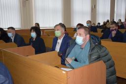 Перша установча сесія Шепетівської міської ради VIII скликання 2020-11-19