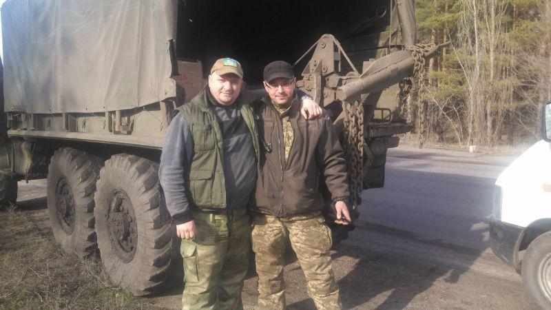 Шепетівські самооборонці повернулись із поїздки до зони АТО