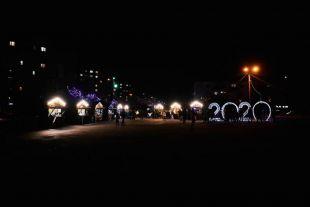 Різдвяний ярмарок у Шепетівці закрили концертом «Новорічний калейдоскоп»