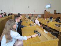 Ліцеїстів ознайомили з роботою Шепетівської міської ради