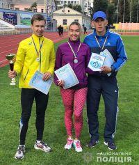 Шепетівський полісмен виявився найкращим бігуном на 3000 метрів в області