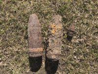 На Шепетівщині знайшли 2 артснаряди та 1 підривник до артилерійського снаряду часів Другої світової війни
