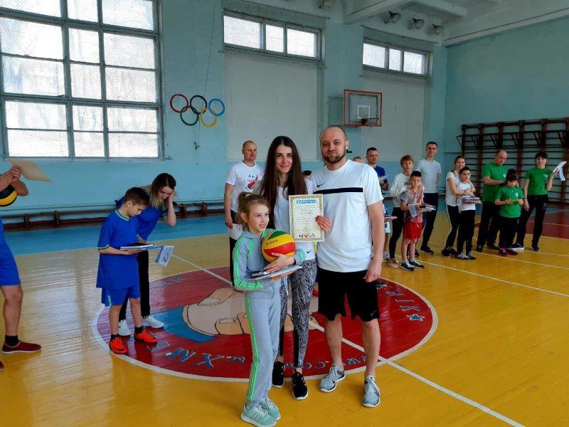 Шепетівську сім'ю Гордилюків визнали найспортивнішою на Хмельниччині