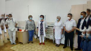 Шепетівська ЦРЛ отримала апарат ШВЛ закуплений за кошти шепетівчан