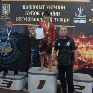 Юний судилківчанин здобув золото на чемпіонаті України з панкратіону