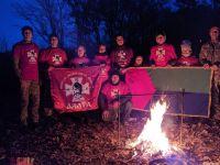 Вихованці гуртка «Джура» Шепетівського НВК №3 ходили в одноденний похід