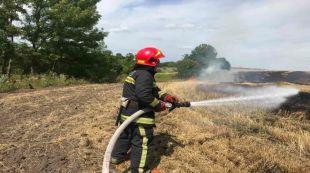 Поблизу села Пиляї виникла пожежа стерні